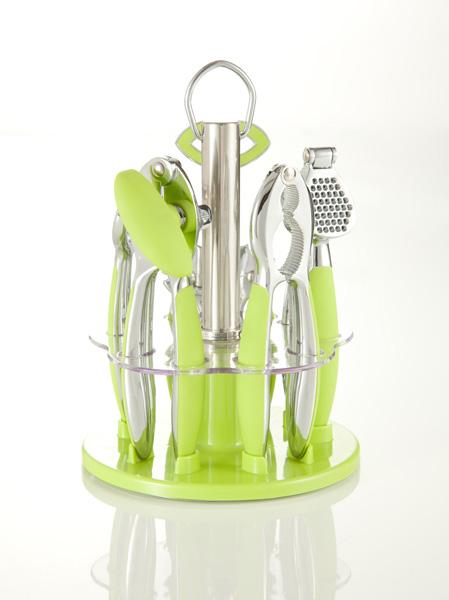 brandani set utensili cucina milleusi verde tavola e
