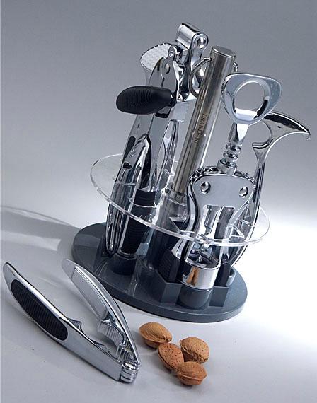 Brandani set utensili cucina milleusi nero bomboniere for Set utensili da cucina