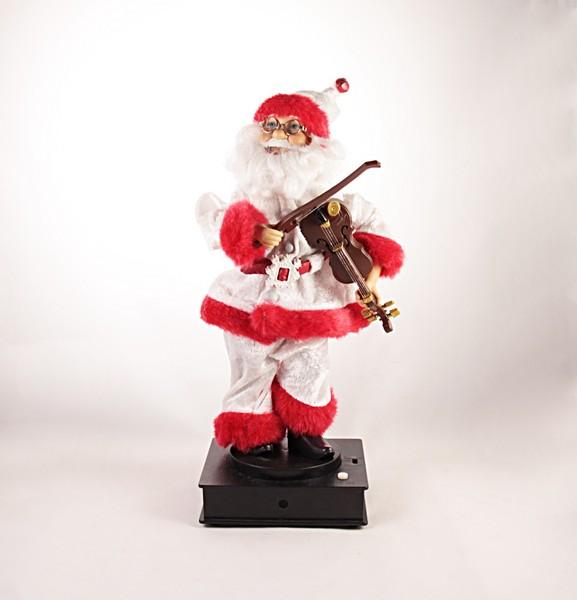 Babbo Natale Musicale.Il Rustico Babbo Natale Musicale Speciale Natale Babbo Natale E Peluche Natalizi Br Bari Garofalo Snc